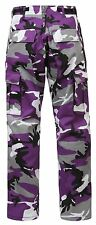 Rothco Bdu Ultra Violet Camouflage Military Style Cotton Men's Pants - Brand New
