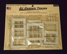 Az Garden Trains G SACLE (1:24) Window Sample Pack