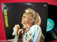 ROD STEWART rare Promo only LP ITALY 1990 EX+ Unique laminated Art Cover