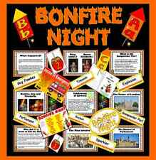 CD BONFIRE NIGHT GUY FAWKES Teaching resources Gunpowder plot fireworks KS1 KS2