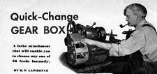 How To Make A Quick Change Gear Box For Your Lathe #43