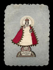 santino manufatto 1800  GESU' BAMBINO DI PRAGA