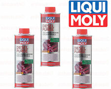 Set of 3 Liqui Moly Diesel Fuel Additive Purge 500 ml. Can 2005