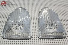 51 Chevy Park Light Lamp Clear Glass Lens Pair Right or Left Set of 2