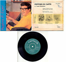 "PEPPINO DI CAPRI  SOGNO D'AMORE+3 7"" EP CAT 23029 CARISH PORTOGALLO"