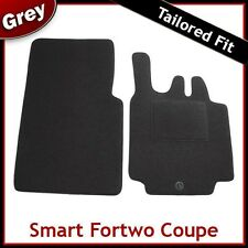 SMART FORTWO Coupe 2003 2004 2005 2006 2007 Tailored Carpet Car Mats GREY