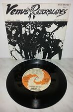 "7"" VENUS AND THE RAZORBLADES - PUNK-A-RAMA  - UK PRESS"