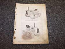John Deere 2010 Diesel Crawler Tractor Original Parts Catalog Manual PC728
