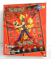Yu-Gi-Oh 250-pc Poster Puzzle, MIB 2002 Factory Sealed