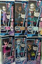 Monster High Dead Tired 6 Dolls Lagoona/ Robecca Steam/Spectra/Draculaura/Abbey.
