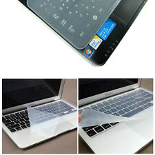 Universal Clear Laptop Notebook Silicone Keyboard Skin Cover Protector