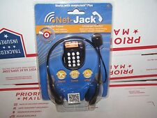 Net-Jack VoIP Cloud Phone Internet Phone Dialer Universal Sterio Headset