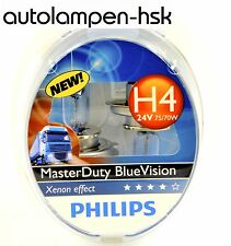 Philips H4 24V MasterDuty Master Duty Blue Vision 2 Stk +++ TOP ANGEBOT+++