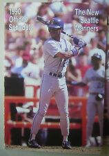 (10) 1990 Seattle Mariners Team Schedules picturing Ken Griffey, Jr.