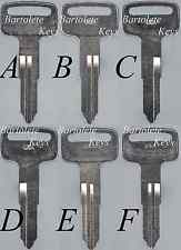 Key Blank Fits Many Suzuki 4 Wheel Models