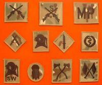 Multicam Trade Badges MTP Combat Qualification Badge Multi Terrian Pattern Badge
