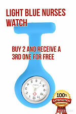 Nurses Watch---Brand New Fashion Silicone Nurse Brooch Fob Watch. Irish Seller..