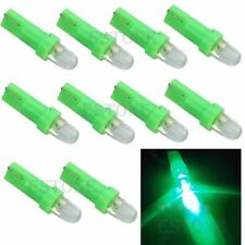 New 10Pcs T5 12V LED Green Car Wedge Dashboard DASH Gauge Light Lamp Bulb