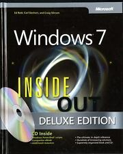 MICROSOFT WINDOWS 7 INSIDE OUT [ - CARL SIECHERT, ET AL. ED BOTT (HARDCOVER) NEW