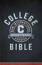 Niv College Devotional Bible by Christopher D. Hudson and Zondervan Staff...