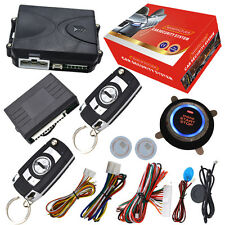 remote central lock system engine start stop by car alarm remote or OEM remote