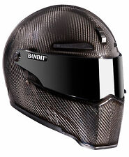 Carbon Fiber Helmet Alien II in Medium by Alien / Bandit Helmet Germany Fullface