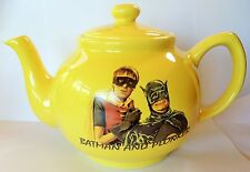 DEL BOY & RODNEY YELLOW CERAMIC TEAPOT British Television Comedy TROTTERS