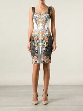 GORGEOUS! RARE JUST CAVALLI Floral Printed Dress -- Sold Out!