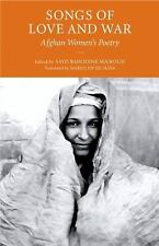 Songs of Love and War: Afghan Women's Poetry-ExLibrary