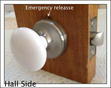 Reengineered Porcelain Ceramic PRIVACY Door Knob set to a Very Affordable Price