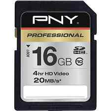 PNY 16G class 10 SD card for Panasonic Lumix GH3 GH2 GH1 G5 GH2K G3 G3K camera