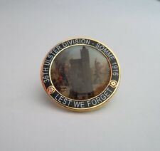 ULSTER 36TH DIVISION BADGE SOMME 1916 LEST WE FORGET