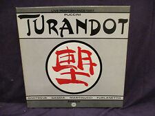 Puccini TURNADOAT . Dimitrova 3 LP BOX SET