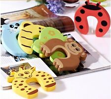 10pcs Safety Door Stopper Finger Corner Guard Protector Cushion Baby Kids NEW-JJ