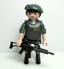 PLAYMOBIL ☆ CUSTOM SERIE POLICIA ☆ UNIDAD ÉLITE - GAR GUARDIA CIVIL #1