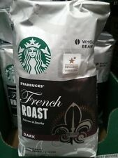 40oz Big Bag Starbucks French Roast Intense,Smoky Dark Whole Bean,Arabica Coffee