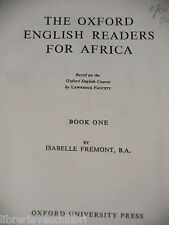 THE OXFORD ENGLISH READERS FOR AFRICA Isabelle Fremont F G French Oxford 1942 di