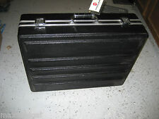 Used HEAVY DUTY Equipment Travel Case 24x19x8, foam inserts, lock latches-NO KEY