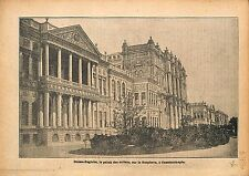 Imperial Palace  Dolma-Bagtche Sultan Istanbul Constantinople 1920 ILLUSTRATION