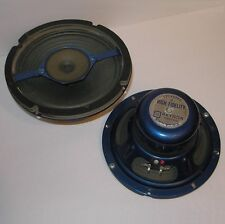 "vintage pair OAKTRON CA-8 Alnico magnet 8"" coaxial full-range drivers—USA, 1962"