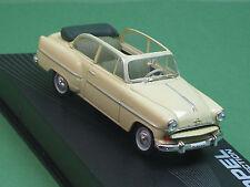 Olympia Rekord Cabrio-Limousine Ixo 1:43 beige Modellauto Opel -Collection