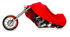 Harley Davidson Sportster & Sport Bike Red Form Fit Customweave Motorcycle Cover