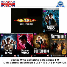 Doctor Who series 1-9 Complete Collection 1 2 3 4 5 6 7 8 9 NEW SEALED UK R2 DVD