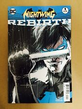 NIGHTWING REBIRTH #1 FIRST PRINT DC COMICS (2016) BATMAN ROBIN GRAYSON