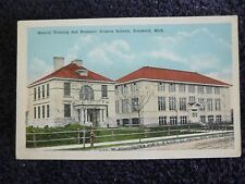 1920's Manuel Training and Domestic Science Schools in Ironwood, Mi Michigan PC