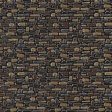 Allover Bricks Brick Wall  2016  By The yard Cotton Row by Row Home Sweet Home