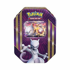 POKEMON CARDS - MEWTWO EX SPRING 2016 COLLECTORS TIN - BOOSTER PACKS + PROMO