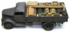 1/35 German Truck Load #1 Resin - Opel Blitz and Tamiya Cargo Truck - Value Gear