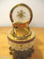 Antique French Crystal Gilt Bronze Pineapple Lighter Baccarat? Depose 1910 Circa