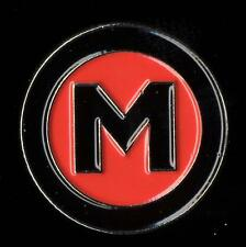 MADNESS - OFFICIAL 'M' SECTION MEMBER ENAMEL BADGE FROM 2009 - SUGGS SKA 2 TONE